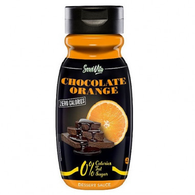 Sirope de Chocolate y Naranja 0% Servivita 320 ml