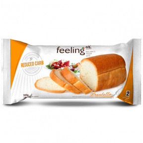 Pan de Molde FeelingOk Bauletto Optimize Natural 300 g