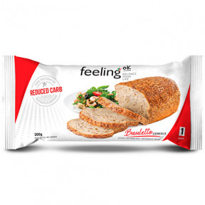 FeelingOk Start Natural with Cereals Bauletto Bread 300g