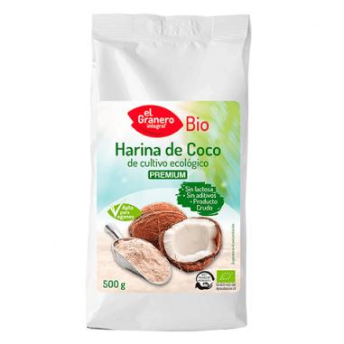 Harina de Coco Bio El Granero Integral 500 g