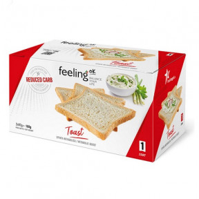 FeelingOk Plain Start Crispy Bread 160 g