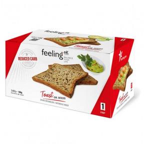 FeelingOk Plain Start Crispy Seeds Bread 160 g