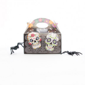 Caja de Chocolates y Dulces Low Carb Halloween