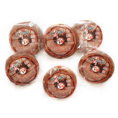 Donut sabor Chocolate Joe and Gerry's Protella 1 unidade