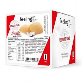 Galletas FeelingOk Biscottone Start Coco 150 g