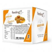 Mini Biscoitos Feelingok Quadrelli Optimize Laranja 150 g