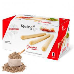 FeelingOk Sesame Grissino Start Breadsticks 150 g (3x50g)