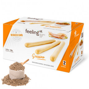Piquitos FeelingOk Grissino Optimize Sésamo 150 g (3x50g)