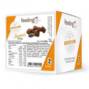 Mini Galletas FeelingOK Quadrelli Optimize Cacao 150 g