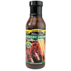 Sauce Barbecue Hickory Smoked Walden Farms 355 ml