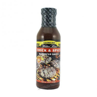 Sauce Barbecue Thick 'n Spicy Walden Farms 355 ml