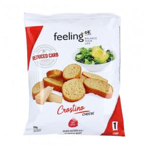 Croutons Queijo FeelingOk Crostino Start 50 g