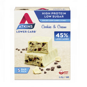 Atkins Advantage Bar Cookies & Cream 5x30 g