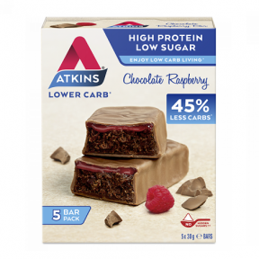 Advantage Bar sabor Chocolate com Framboesa Atkins 5x30 g