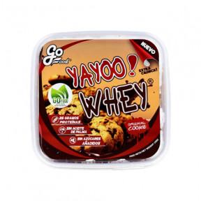 Biscoitos de Proteína Yayoo Whey com Lascas de Chocolate GoFood 150 g