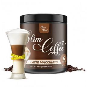 Pronto para fazer Café Latte Macchiato Slim Coffee Clean Foods 425 g