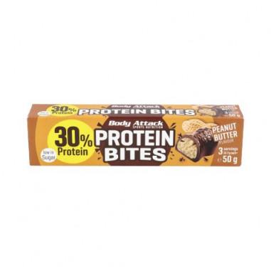 Protein Bites Chocolat Farci au Beurre D'arachide Body Attack 50 g