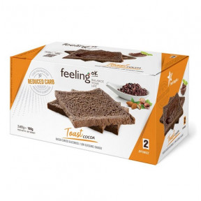 Tostadas FeelingOk Optimize Cacao 160 g