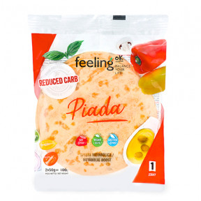 Ovo FeelingOk Piada Start 100g 2 unidades