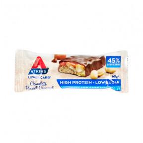 Advantage Bar goût Chocolate Peanut Caramel Atkins 60 g