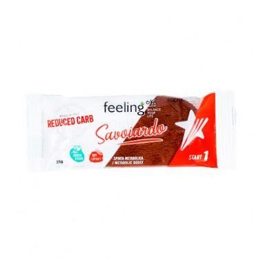 Galleta FeelingOk Savoiardo Cacao Start 35g