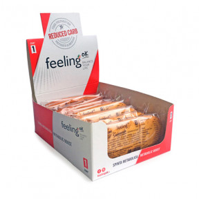 Pack 10 Galletas FeelingOk Savoiardo Start Albaricoque 350 g (10 x 35g)