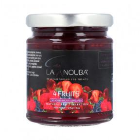 Geléia Low carb de Quatro Frutas LaNouba 215g