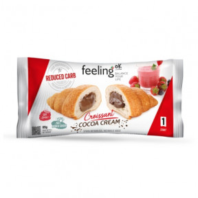 Croissant relleno de Chocolate FeelingOk Start 1 unidad 65 g