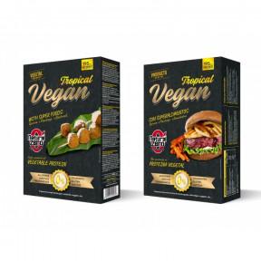 Hamburguesa Proteica Tropical Vegan Natural Zero 195g HACER