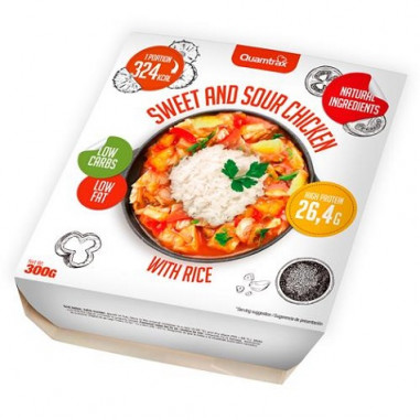 Sweet and Sour Chicken with Rice Quamtrax 300 g