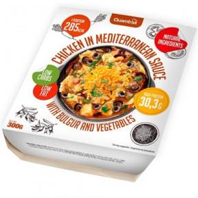 Poulet à la sauce méditerranéenne avec boulgour et légumes Quamtrax 300 g