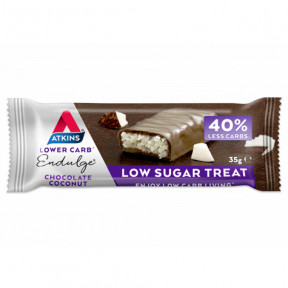 Endulge Bar Sabor Chocolate con coco Atkins 35 g
