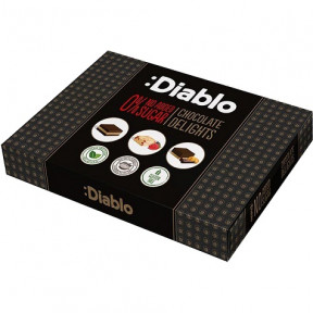 No added sugar :Diablo Bonbons 115g