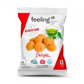 Biscuits FeelingOk Delizia Start Abricot 50 g