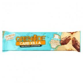 Barrita Proteica Carb Killa sabor Caramelo Salado con Chispas de Chocolate Grenade 60 g