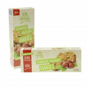 Cookies com Avelãs sem adição de açúcar LCW 135g