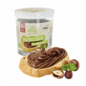 Pâte à tartiner au chocolat noir et noisettes sans sucre ajouté LCW 200 g