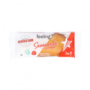 Galleta FeelingOk Savoiardo Start Avellanas 35 g