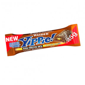 Low Carb Yippie! Bar Brownie-Vainilla Weider 45 g