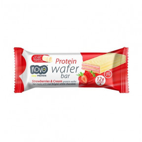 Novo Nutrition Strawberries and Cream Protein Wafer 40g