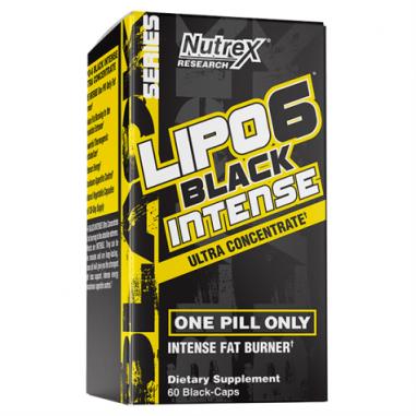 Lipo 6 Black Intense Ultra Concentré 60 Gélules pour perte de poids Nutrex Research