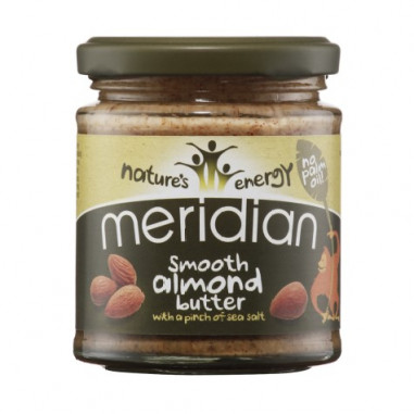 Natural Almond Butter Smooth with a Pich of Sea Salt Meridian 170 g