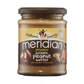 Mantequilla de Cacahuete Ecológica Salada Suave Meridian 280g
