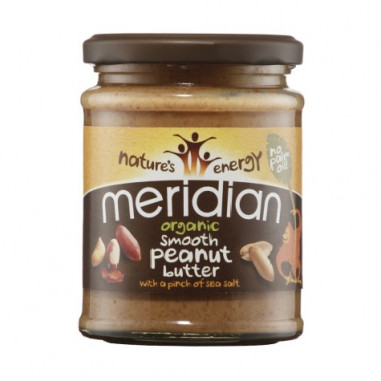Meridian Organic Smooth Salted Peanut Butter 280g