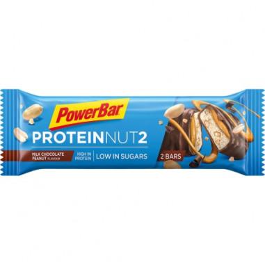 Barrita Protein Nut2 chocolate con leche y cacahuetes 45g PowerBar