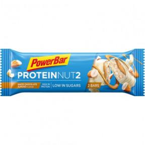 Barrita Protein Nut2 chocolate blanco con almendras 45g PowerBar