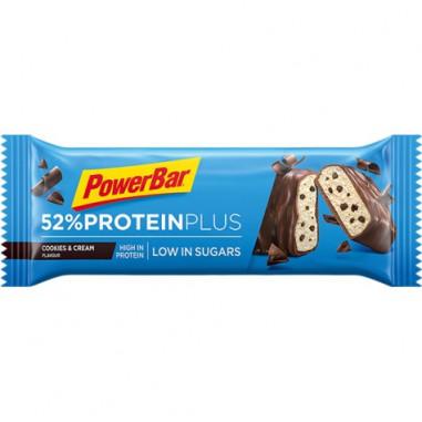 Barre énergétique PowerBar Protein Plus 52% Biscuits à la crème 50g
