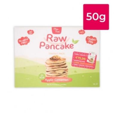 Monodose pour Pancakes Low-Carb Raw goût Pomme-Cannelle Clean Foods 50g