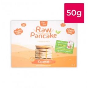 Monodosis para Tortitas Low-Carb Raw Pancake sabor Caramelo Clean Foods 50g