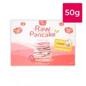 Monodosis para Tortitas Low-Carb Raw Pancake sabor Red Velvet Clean Foods 50g